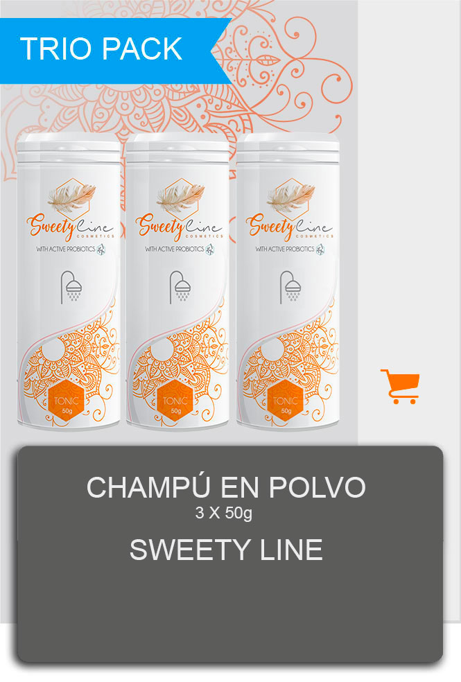 Poudre-de-douche Sweety line cosmedis